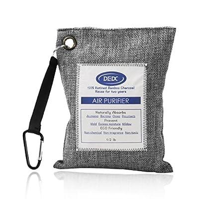 DEDC Air Purifying Bag Mini Bamboo Charcoal Bags Natural Air Purifier, Shoe Deodorizer and Odor Eliminator