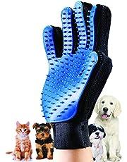 G-Motions - Guantes para cepillado y masaje Guante cepillo eliminar pelo, para limpieza suave y eficiente de mascotas, de masaje, 1 pieza