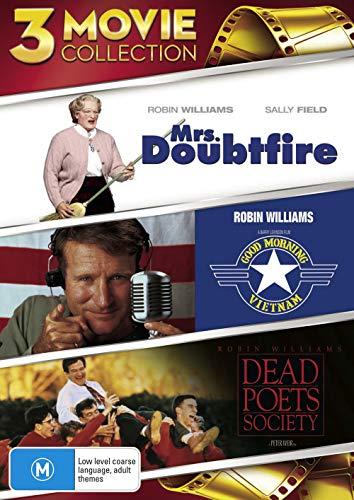 Mrs Doubtfire / Good Morning Vietnam / Dead Poets Society DVD   3 Discs   NON-USA Format   Region 4 Import - Australia