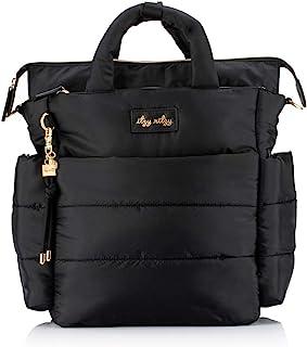 Itzy Ritzy Dream Convertible Diaper Bag, Midnight Black