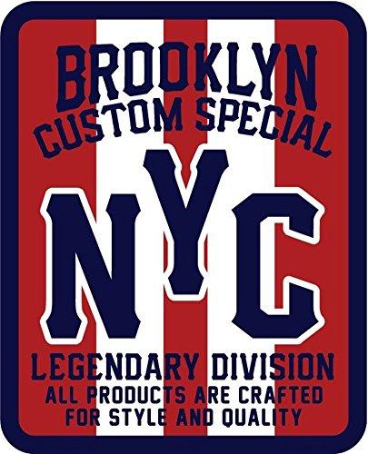 Brooklyn Custom Special Badge Label Vinyl Decal Bumper Sticker/Pegatina
