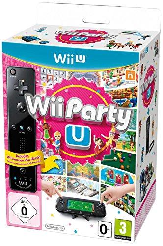 Wii Party U + Remote-Controller (schwarz)