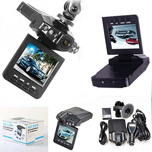 'Mini DVR Caméra de voiture enregistreur vidéo HD Moniteur vidéo LCD 2,5 6 LED Cw174