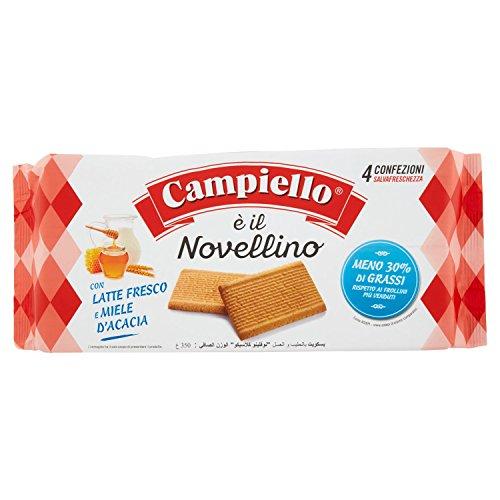 Campiello - Biscotti, con Latte Fresco e Miele d'Acacia - 12 pezzi da 350 g [4200 g]