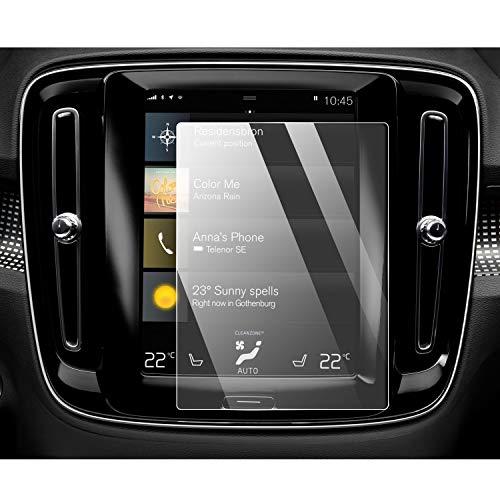 YEE PIN Volv o XC40 2018 2019 2020 Navigation Schutzfolie GPS Displayschutzfolie Navi Folie Gehärtetes Glas Schutz Auto Zubehör 8.7 Zoll