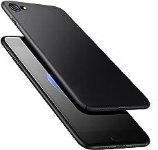 Funda Carcasa iPhone 8 iPhone 7, POOPHUNS Fundas Carcasas Case Caso para iPhone 8 iPhone 7, Negro, Ultra-Delgado, Anti-Rasguño, Anti-Golpes, Anti-Estático, Ligera, Ajuste Perfecto, Skin Series