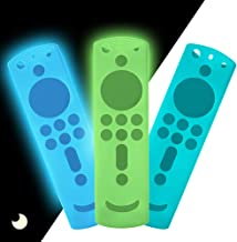 3 Pack Silicone Protective Remote Control Case for Fire TV Stick 4K/ Fire TV Cube/Fire TV (3rd Gen), Shockproof Skin Anti ...