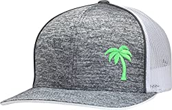 small LINDO Tracker Hat-Palm Series (Static Gray / Neon)