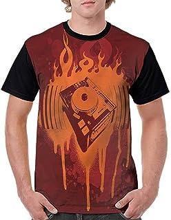 BlountDecor Trend t-Shirt,Aquatic Objects Boats Fashion Personality Customization