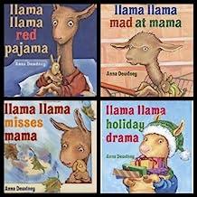 Llama Llama Set (Holiday Drama / Mad at Mama / Misses Mama / Red Pajama)