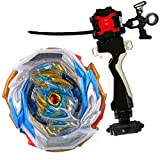 Bey Battle Burst B-154 DX Booster Imperial Dragon Starter + LR String Launcher (Left & Right Turning) & Grip with Weight Damper.