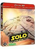 Solo : a Star Wars story - steelbook 3D + 2D + bonus [Blu-ray] [Blu-ray 3D + Blu-ray + Blu-ray Bonus - Édition limitée boîtier SteelBook]