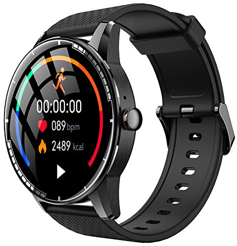 YGMDSL Smart Watch Reloj Inteligente Fitness Tracker Smartwatch Pulsera Smartwatch Bandas Deportes Smartwatch Smart Watch Hombres Bluetooth Llamada Música Actividad Fitness Tracker (A)