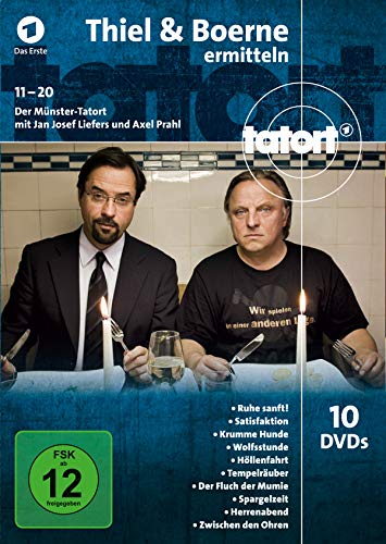 Tatort Münster - Thiel und Boerne ermitteln Fall 11-20 [10 DVDs]