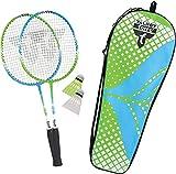 Talbot Torro Set de Badminton 2 Attacker Junior para Niños, 2 Raquetas...