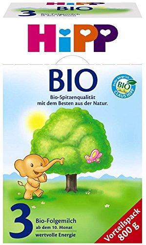 Hipp Milchnahrung 3 Bio 1 x 800g, Folgemilch