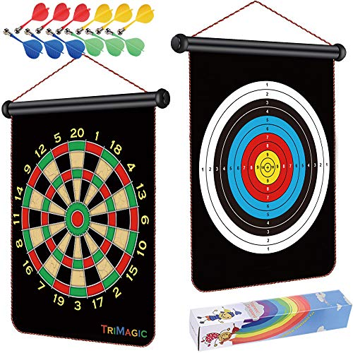 TriMagic Magnetic Dart Board - Best Birthday Toys...