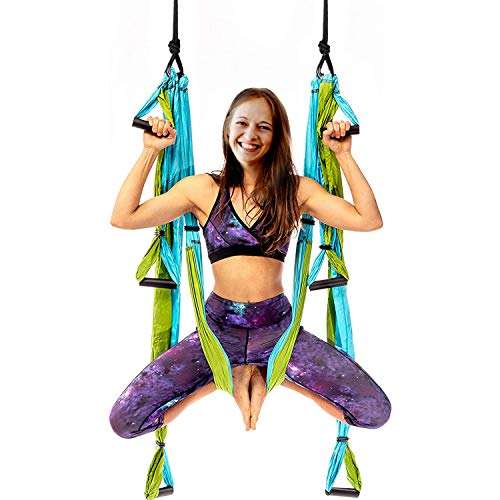 Best Bargain Yoga Swing Yoga Inversion Swing Yoga Sling Set, Strong Anti-Gravity, Yoga Hammock Kit f...