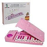 電子ピアノ 折り畳めるピアノ 鍵盤楽器 キーボード – Happytime ZM17035 音と光を楽しめる エレクトーン マイク付キ ミュージシャン 初心者用 楽器おもちゃ