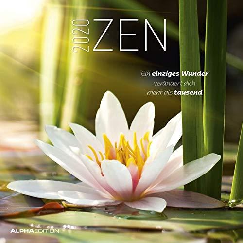 """Calendario da muro """"Zen"""" 2020 30 x 30 cm"""