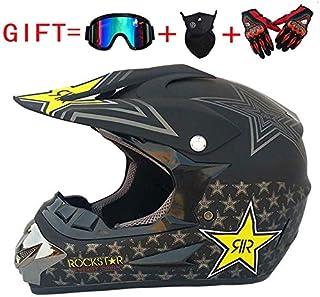 Adulto Motocross Casco MX Moto Casco ATV Scooter ATV Casco D