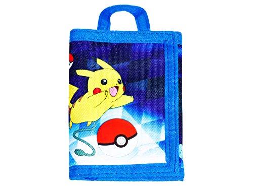 Pokemon Boys Tri-Fold Wallet