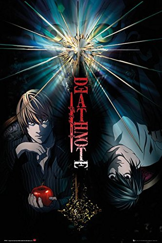 """Price comparison product image POSTER STOP ONLINE Death Note - Manga / Anime TV Show Poster / Print (Duo - Light vs. L) (Size 24"""" x 36"""")"""