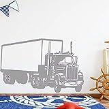 Ajcwhml Amerikanischen LKW Wandkunst Aufkleber Wandaufkleber Material Kinderzimmer Home Decoration Home Decoration Zubehör Accessories 30cm x 47cm