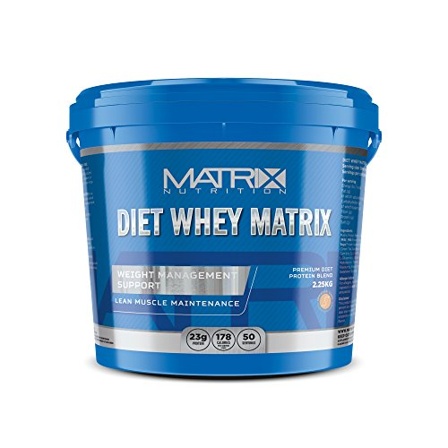 Matrix Nutrition Diet Whey Protein Powder Shake - Meal Replacement Weight Loss Shake (Vanilla, 2.25KG)