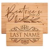 Personalized Cutting Board Laser Engraved (DESIGN-10)