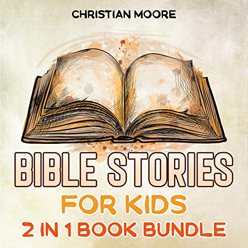 Bible Stories for Kids audiobook cover art