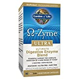 Garden of Life Vegetarian Digestive Supplement - Omega Zyme Ultra Enzyme Blend for Digestion, Bloating, Gas, and IBS, 90 Capsules