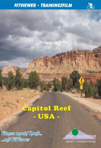 FitViewer Capitol Reef Indoor Video Cycling USA