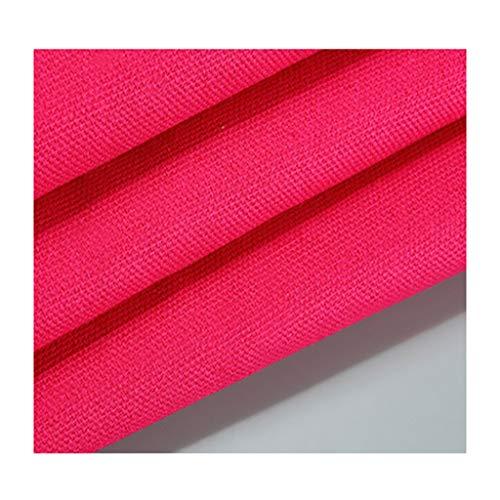 Katoen natuur Uni stof kleur linnen polyester katoen zeildoek gordijn sofa Hessian tafelkleed handwerk knutselen 150 cm breed