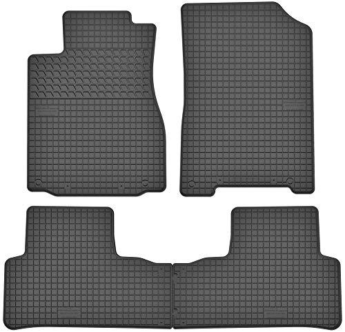 Motohobby Gummimatten Gummi Fußmatten Satz für Honda CR-V IV (2011-2018) - Passgenau