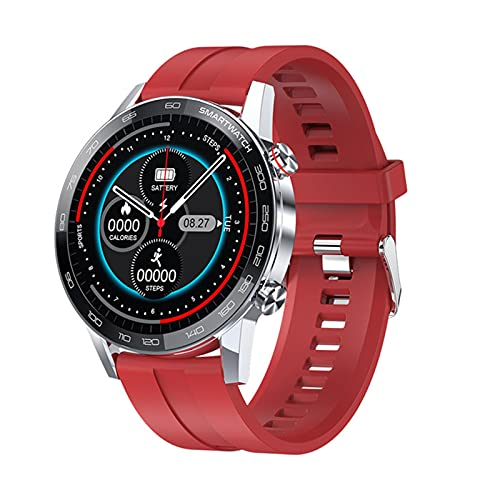 YYZ L16 Smart Watch Hombre IP68 Reloj Inteligente A Prueba De Agua 1.3 Pulgadas 360 * 360 HD Pantalla Táctil Completa Fitness Sportsswatch,B