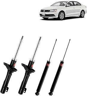 Jogo 04 Amortecedores KYB Dianteiros e Traseiros VW Golf 99/03, New Beetle 98/10, Jetta 99/14