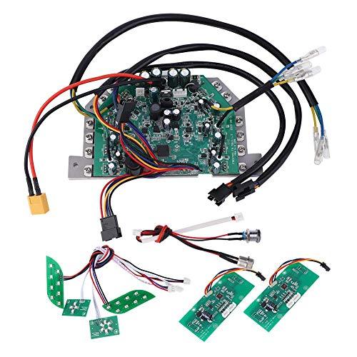 Alomejor Controlador de Placa Base de Scooter eléctrico, Juego de Placa Base de e-Scooter Remoto para Scooter de Equilibrio de 6,5/8/10 Pulgadas(5#)