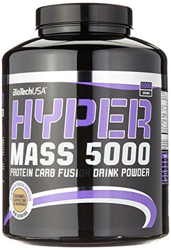 Biotech USA Hyper Mass 5000 Karamell-Cappuccino, 1er Pack (1 x 5 kg)