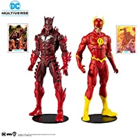 McFarlane Toys DC Multiverse Earth -52 Batman (Red Death) and The Flash Action Figure Multipack