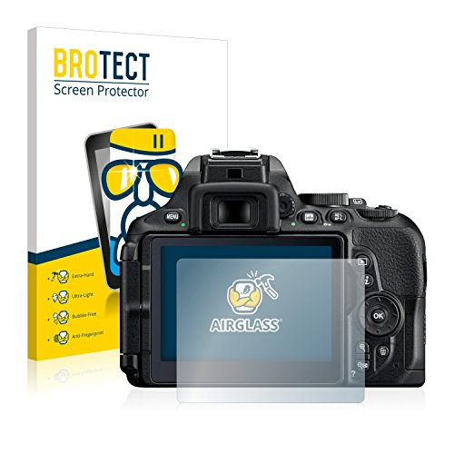 BROTECT Protector Pantalla Cristal Compatible con Nikon D5600 ...