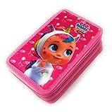 Cry Babies - Astuccio Scuola 3 Zip Dreamy, BRUNY & Tina - Completo di 44 Pezzi - Prodotto Ufficiale IMC Toys