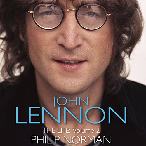 John Lennon audiobook cover art