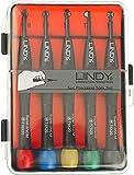 Lindy 43012 Set di Cacciaviti Torx di precisione, 5 pezzi - T6, T7, T8, T9, T10