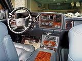 Chevrolet Chevy avalancha Interior de Madera del Burl Dash Juego de Acabados Set 2000 2001 2002