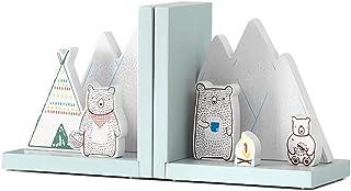 XBR Ny bokstöd kreativt lärande bokstöd bokstöd för barn barns bokändar bokstoppare för hyllor, barnrum eller barnkammare ...