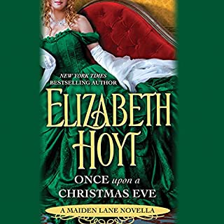 Once Upon a Christmas Eve audiobook cover art
