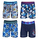 STAR WARS Boys' Big Underwear Multipacks, 4pk Athletic, 10