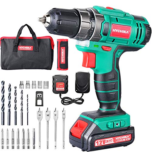 Atornillador Inalambrico Marca HYCHIKA BETTER TOOLS FOR BETTER LIFE