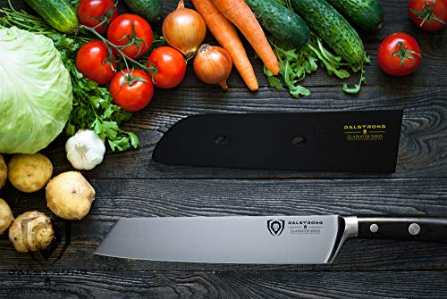 DALSTRONG Chef Knife - Gladiator Series - Forged ThyssenKrupp High Carbon German Steel - Full Tang (8.5